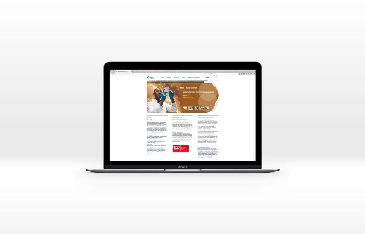 MSD.ch Website auf MacBook 02